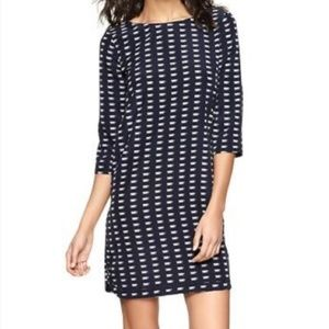 Gap XS Women's Navy Blue Teacup Print Dress
